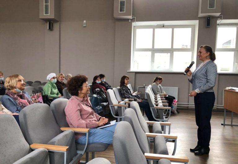 Встреча с профлидерами Пушкинского района